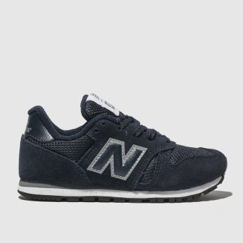 New Balance Navy 373 Unisex Junior