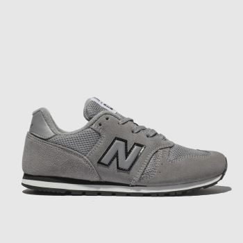 New Balance Dark Grey 373 Unisex Junior