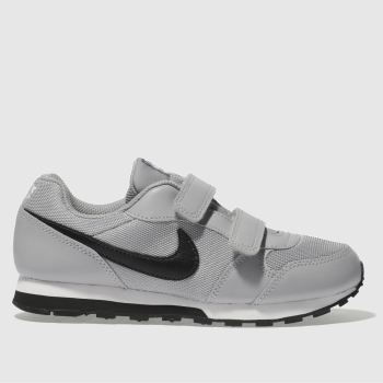 Nike Light Grey Md Runner Unisex Junior