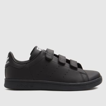 adidas Black & White Stan Smith 3v Unisex Junior