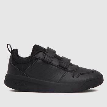 adidas Black Tensaur Velcro Unisex Junior