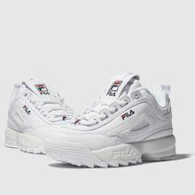 Kinder fila Weiß Disruptor Ii Sneaker