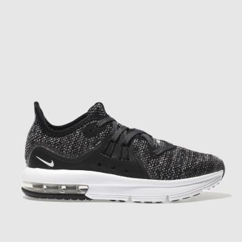 Nike Black Air Max Sequent 3 Unisex Junior