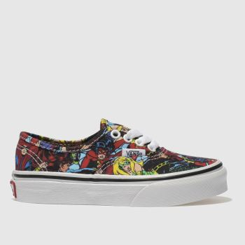 Vans Multi Authentic Marvel Characters Unisex Junior