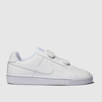 Nike White Court Royale Unisex Junior