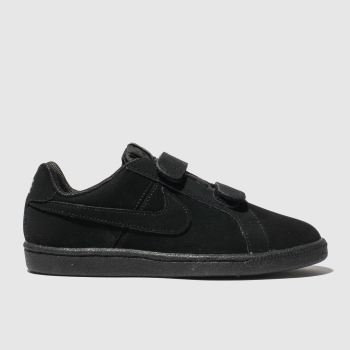 Nike Black Court Royale Unisex Junior