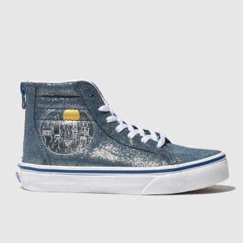 Vans Blue Hp Hogwarts Sk8-Hi Unisex Junior