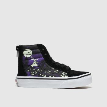 Vans Black & Purple Sk8-Hi Zip X Tnbc Unisex Junior