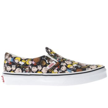 Vans Multi Slip-On Peanuts The Gang Unisex Junior