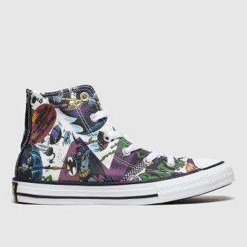 Converse Multi All Star Hi Batman Unisex Junior
