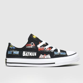 Converse Multi All Star Lo Batman Unisex Junior
