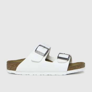 BIRKENSTOCK White Arizona Unisex Junior