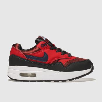 Nike Red Air Max 1 Unisex Junior