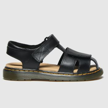 Dr Martens Black Moby Unisex Junior#
