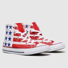 Converse Cons Ctas Hi Bars&stripes Jnr 1