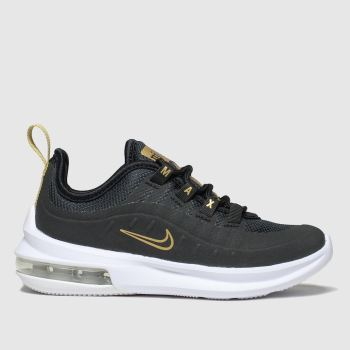 Nike Black & Gold Air Max Axis Unisex Junior