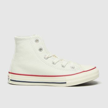 Converse White Hi Unisex Junior