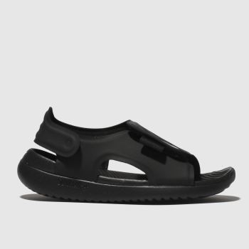 Nike Black & White Sunray Adjust 5 Unisex Junior