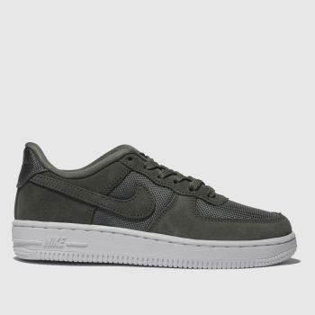 Nike Khaki Air Force 1-1 Unisex Junior