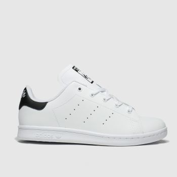 Adidas White & Black Stan Smith Unisex Junior