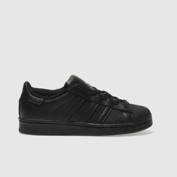 Adidas Black Superstar Foundation Unisex Junior