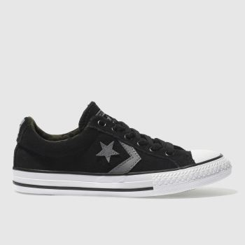 Converse Black Star Player Ox Unisex Junior