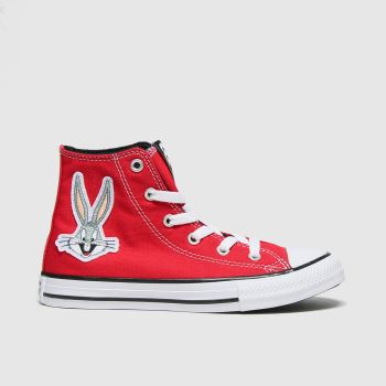 Converse Red Hi Bugs 80th Unisex Junior