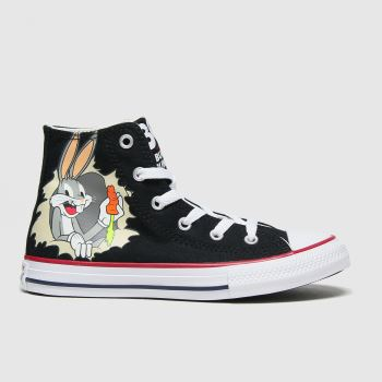 Converse Black & White Hi Bugs 80th Unisex Junior