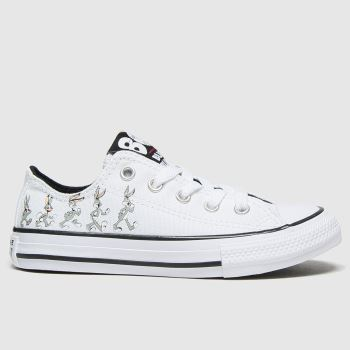 Converse White & grey Lo Bugs 80th Unisex Junior