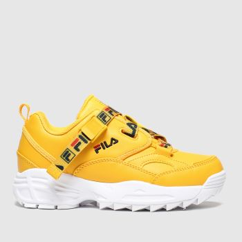 Fila Yellow Fast Charge Unisex Junior