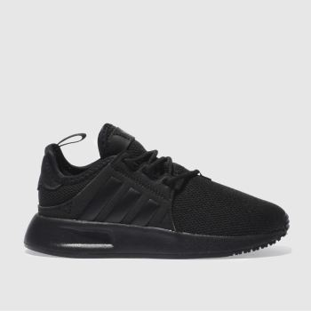 adidas black x_plr trainers junior