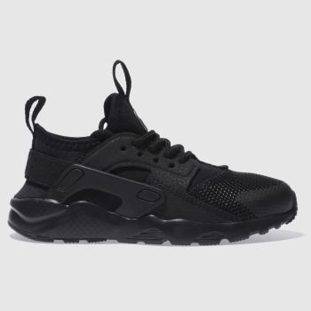 Nike Black Huarache Run Ultra c2namevalue::Unisex Junior#promobundlepennant::BTS PROMO