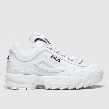 Fila White Disruptor Ii Premium c2namevalue::Unisex Junior