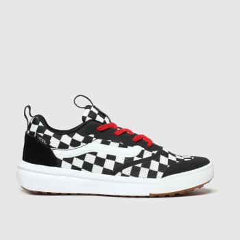 Vans Black & White Ultrarange Rapidweld Unisex Junior