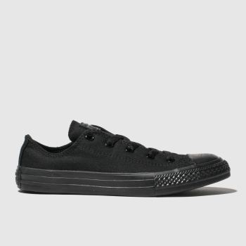 Converse Black Cons Ctas Lo Unisex Junior