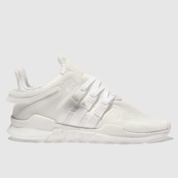 Adidas White Eqt Support Adv Unisex Junior