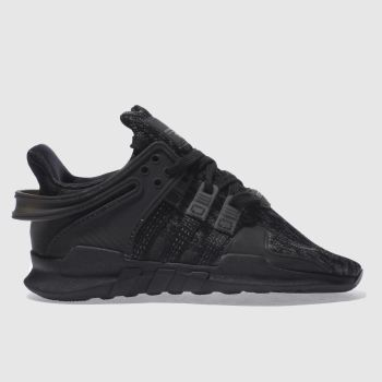 Adidas Black EQT SUPPORT ADV C Unisex Junior