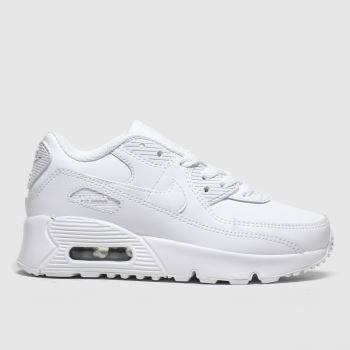 Nike White Air Max 90 Ltr Unisex Junior#