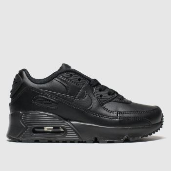 Nike Black Air Max 90 Ltr Unisex Junior#