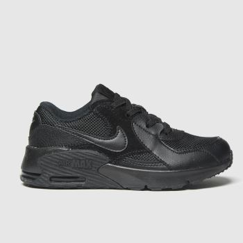 Nike Black Air Max Excee Jnr Unisex Junior