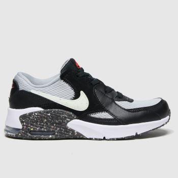 Nike Black & Grey Air Max Excee Unisex Junior