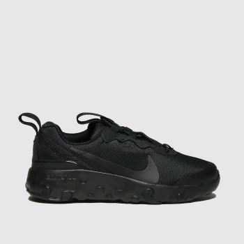 Nike Black Renew Element 55 Unisex Junior