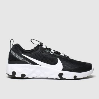 Nike Black & White Renew Element 55 Unisex Junior