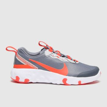 Nike Grey Renew Element 55 Unisex Junior
