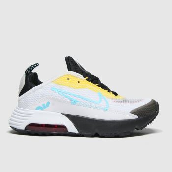 Nike White & Yellow Air Max 2090 Unisex Junior