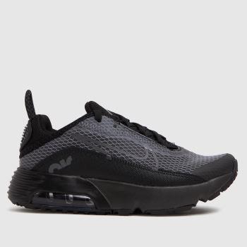 Nike Black & Grey Air Max 2090 Unisex Junior