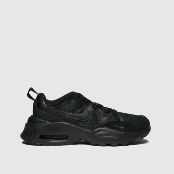 Nike Black Air Max Fusion Unisex Junior