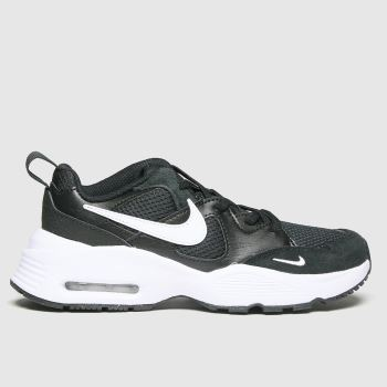 Nike Black & White Air Max Fusion Unisex Junior