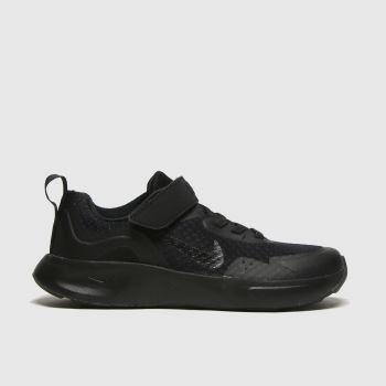 Nike Black Wearallday Unisex Junior#