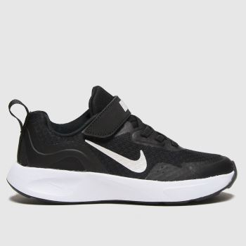 Nike Black & White Wearallday Unisex Junior#